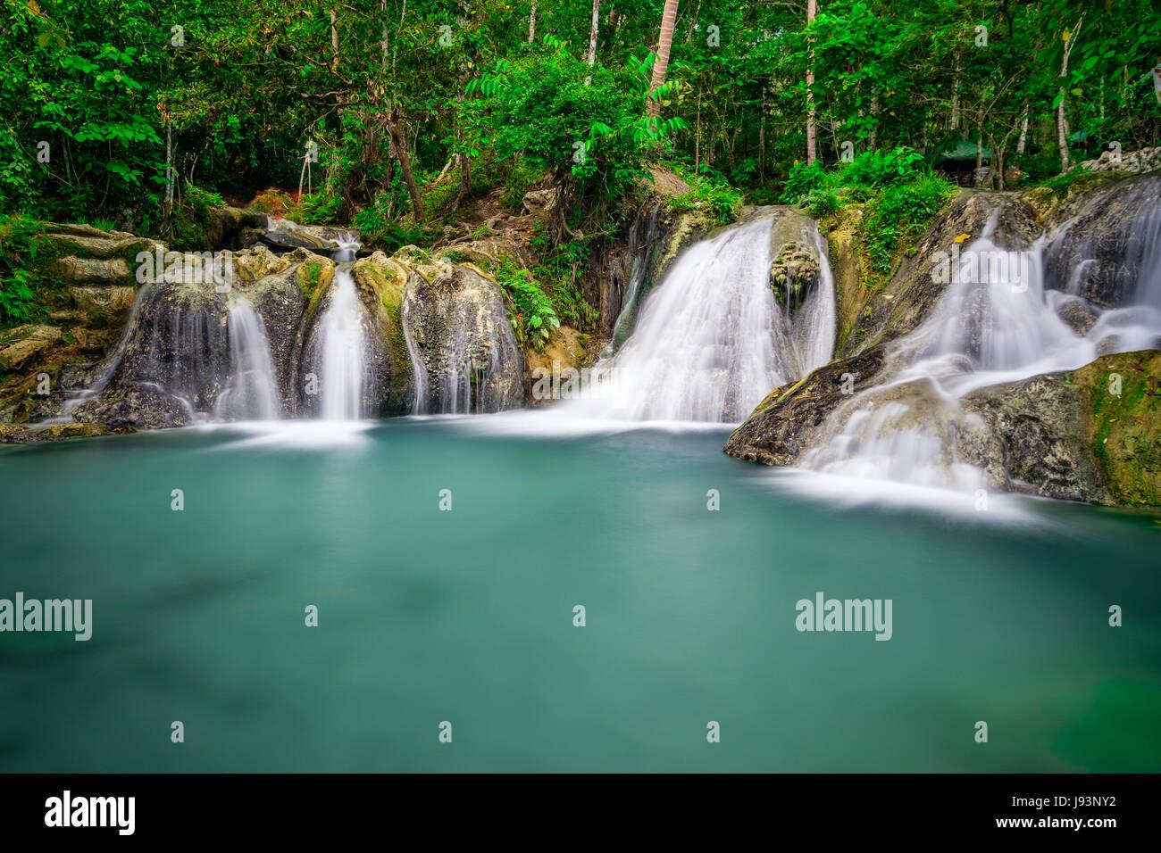 Hagimit Falls - Stock Image