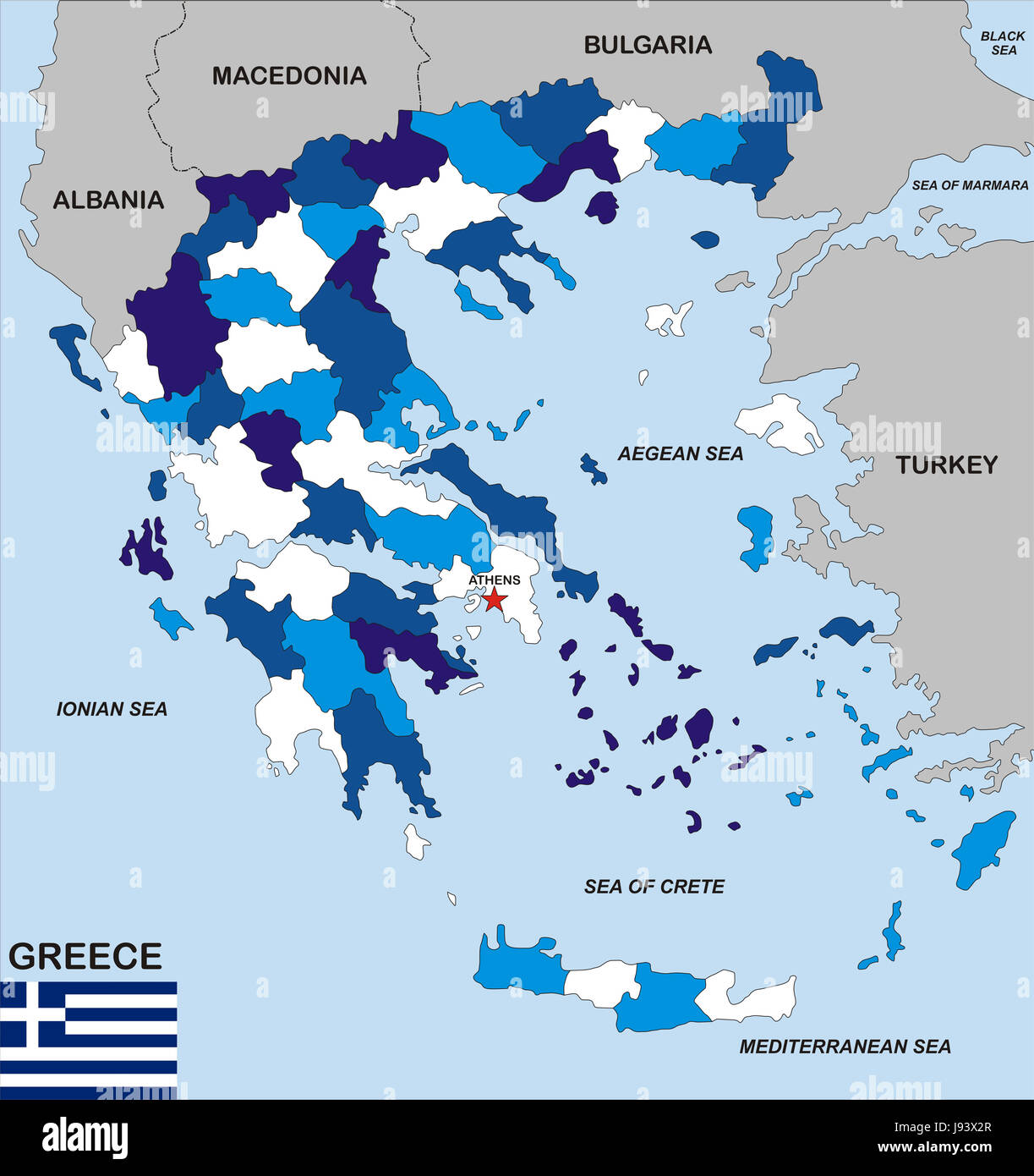 greece map atlas map of the world travel political greece