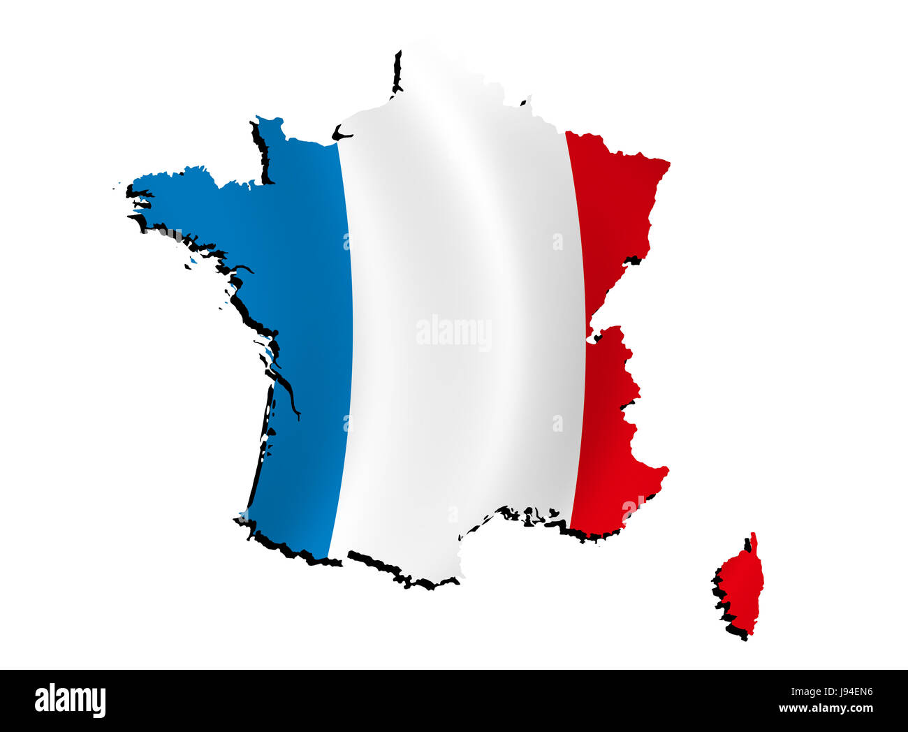 Map Of France Detailed.France Flag Border Outline Atlas Map Of The World Map