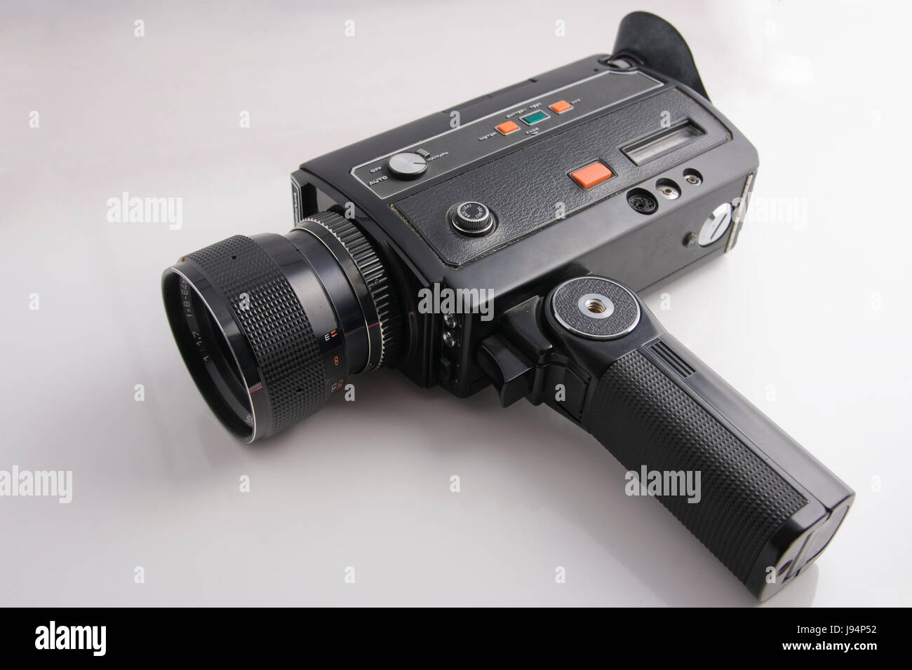 cine camera, film, movie, movies, substandard film, video camera, analogous, - Stock Image