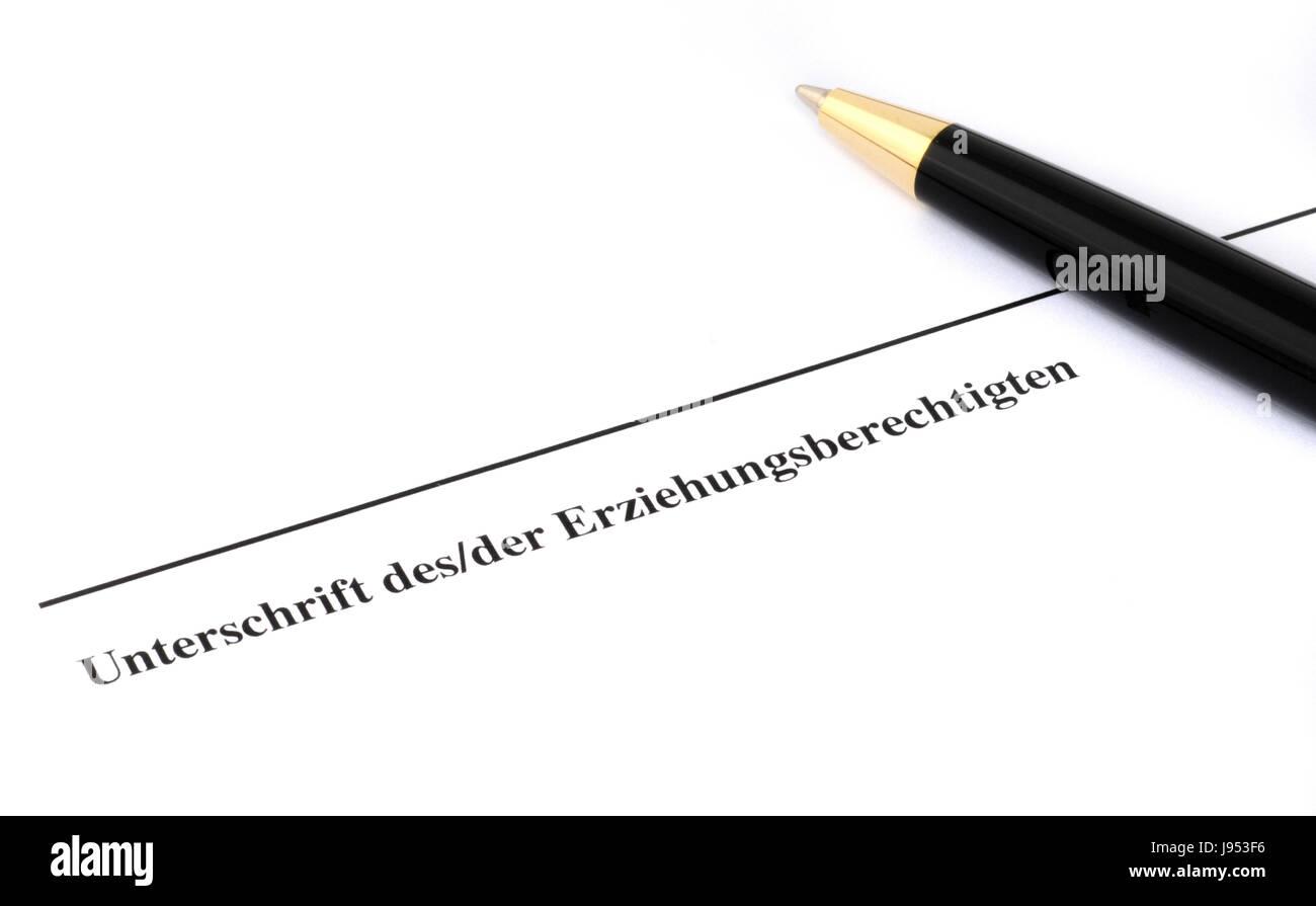 signature, sign, line, slip, hand, write, wrote, writing, writes, contract, Stock Photo