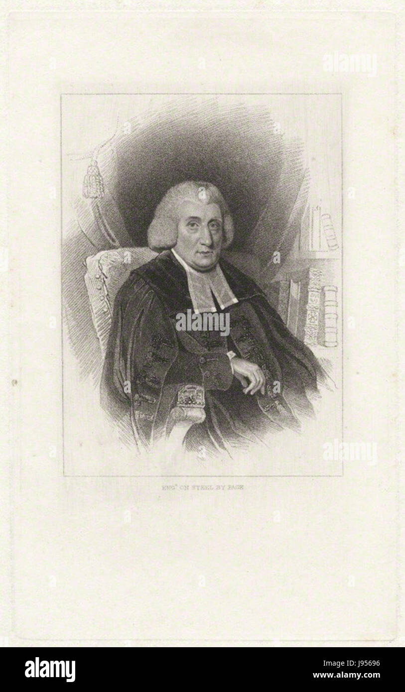 Possibly John Buckner by R. Page - Stock Image