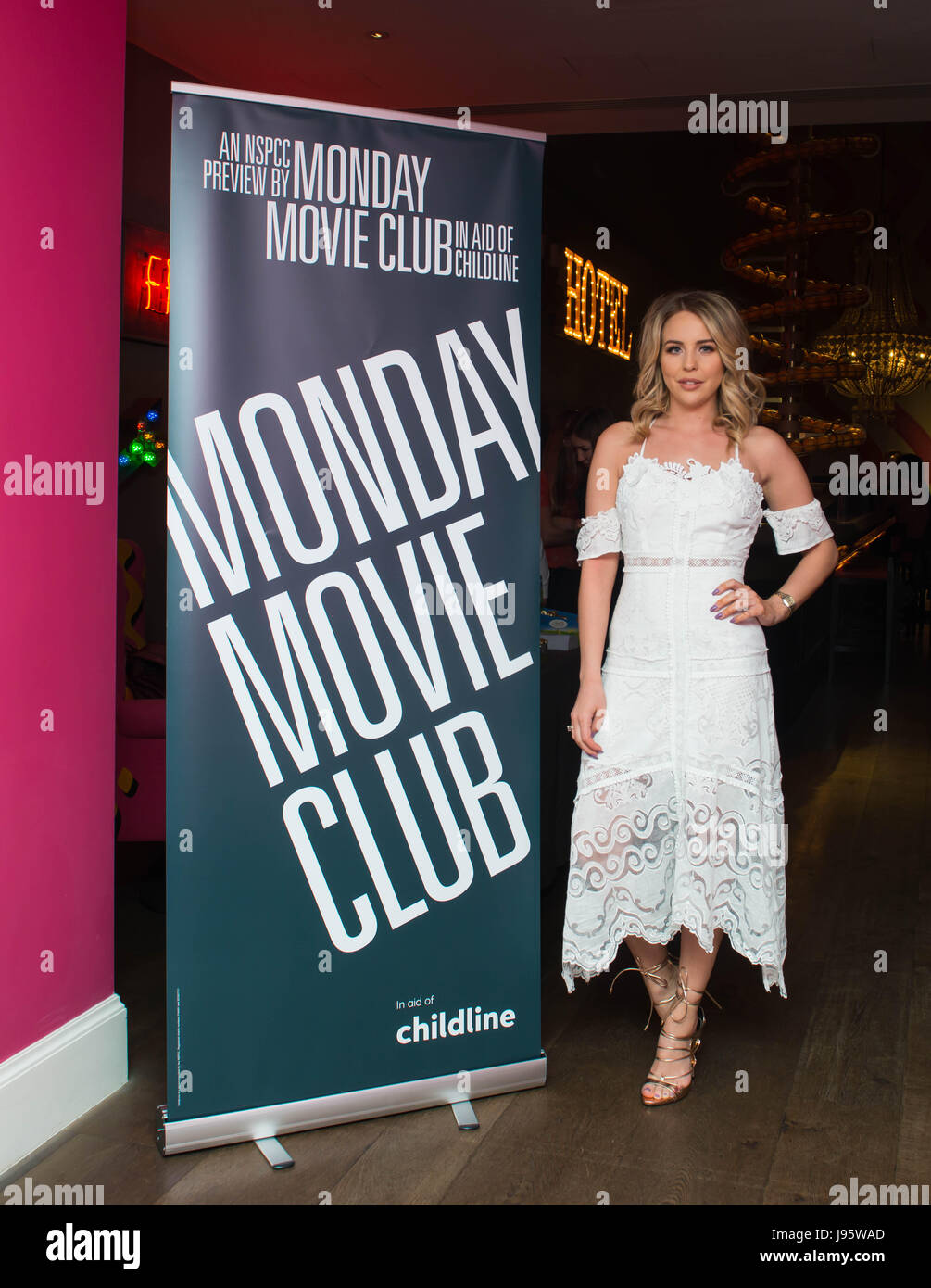London, UK. 4th June 2017. TV Personalities Lydia Bright  attends The NSPCC Monday Movie Club screening of 'My - Stock Image
