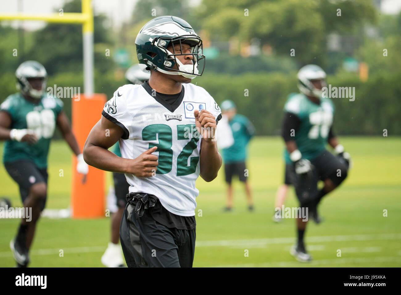 Philadelphia, Pennsylvania, USA. 5th June, 2017. Philadelphia Eagles cornerback Rasul Douglas (32) in action during Stock Photo