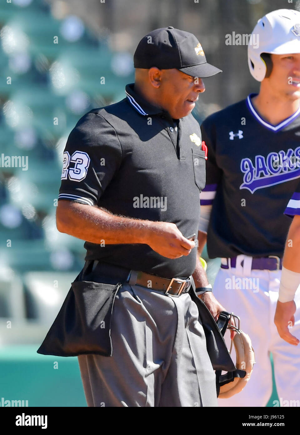 MAY 25, 2017 -- Home Plate Umpire Robert Holloway During