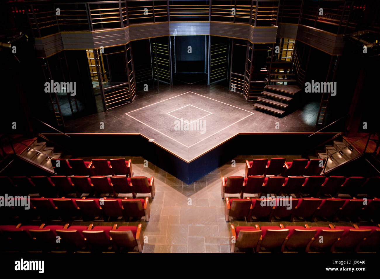 The Vakhtangov Theater. Scheme of the hall and its history