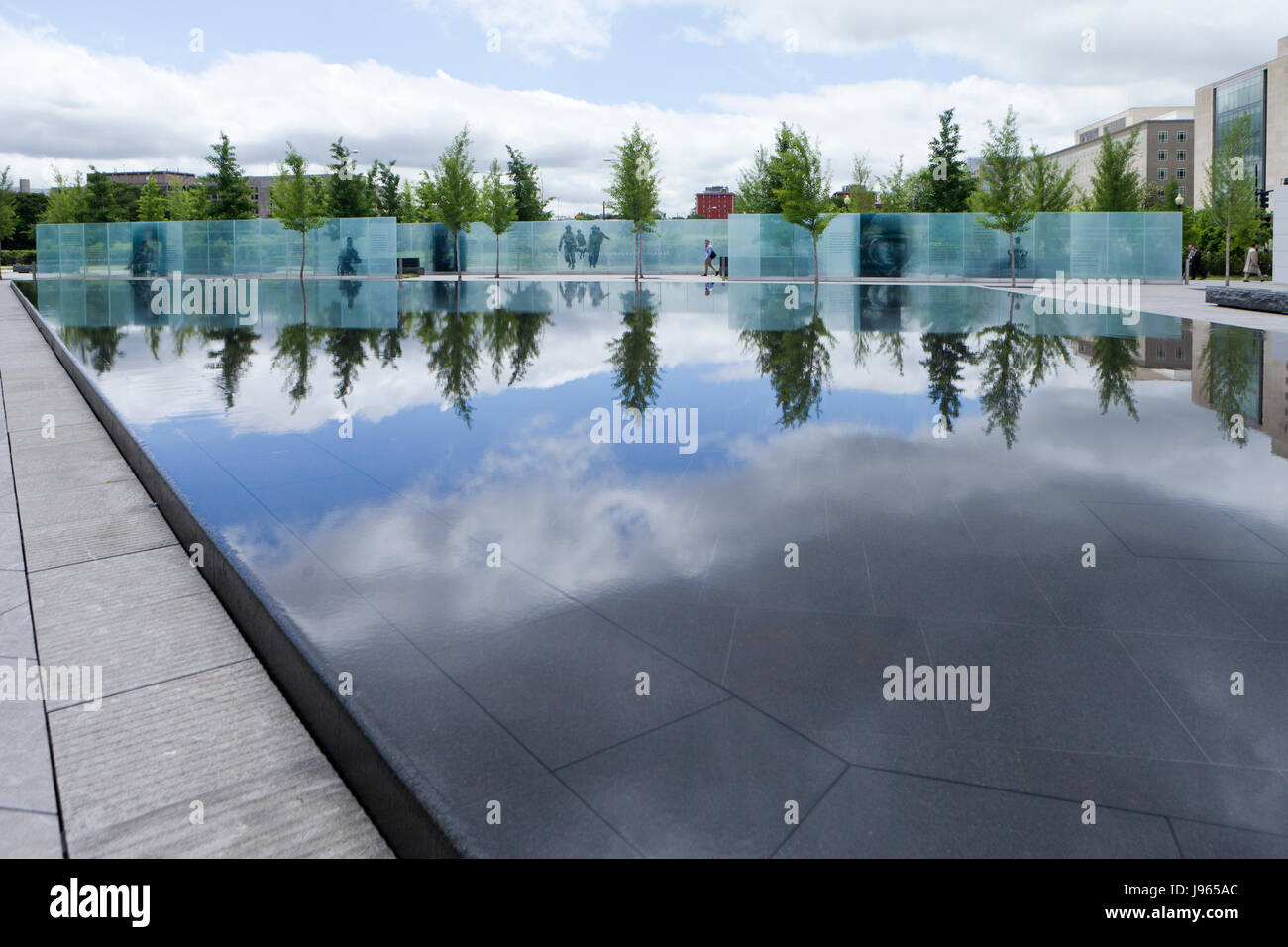 The American Veterans Disabled for Life Memorial - Washington, DC USA - Stock Image