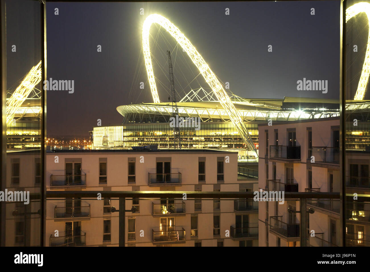 View of Wembley - Stock Image