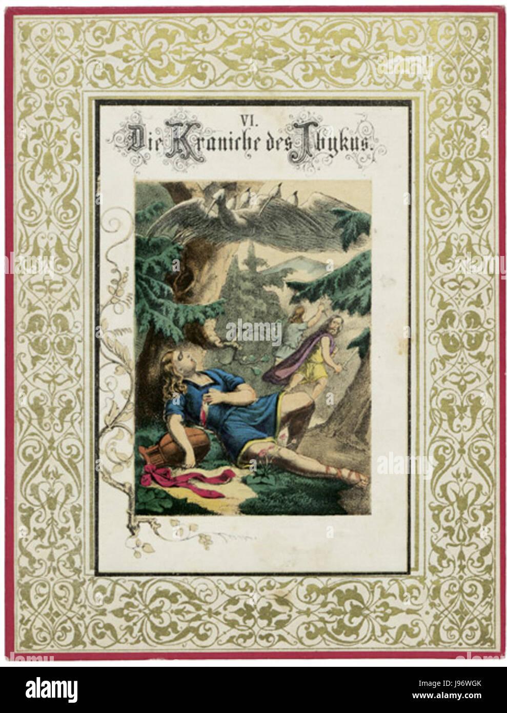 Schiller Spiel Zu Gedichten Und Dramen Kraniche Des Ibykus Stock Photo Alamy