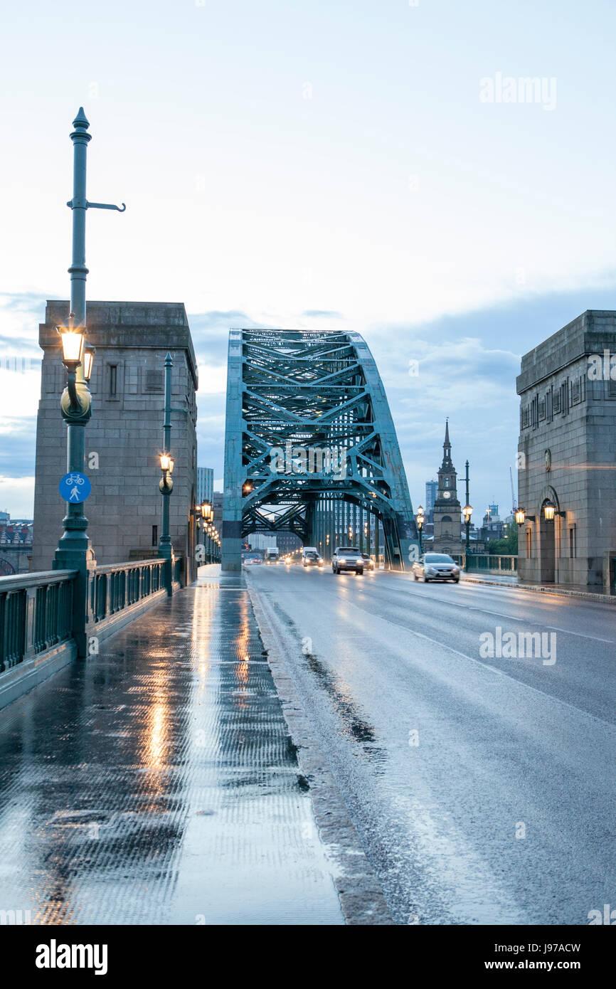 The Tyne Bridge - Newcastle England UK Stock Photo