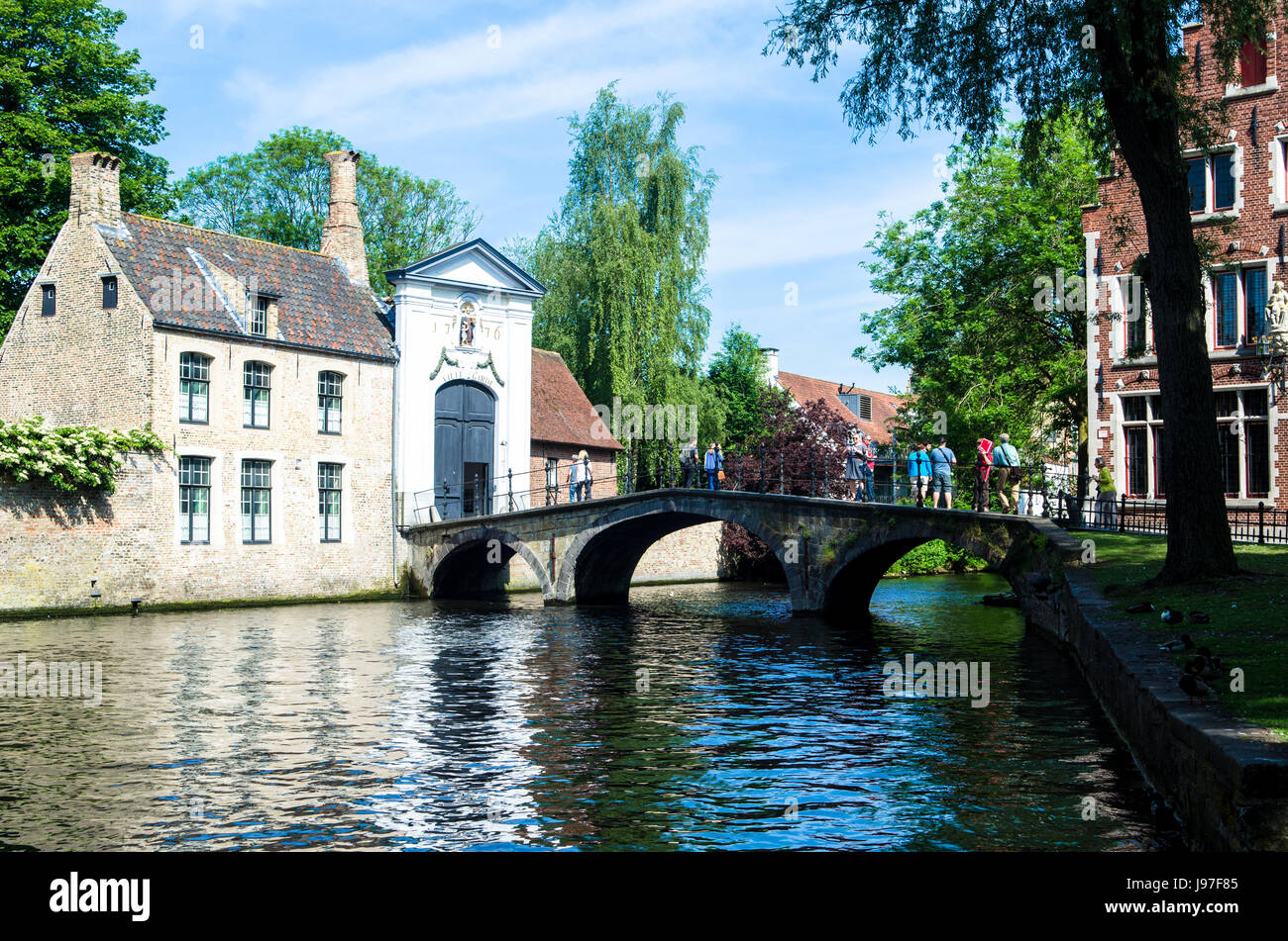 Bruges West Flanders Belgium Stock Photo