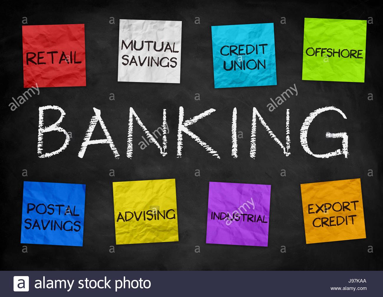Banking strategies - Stock Image