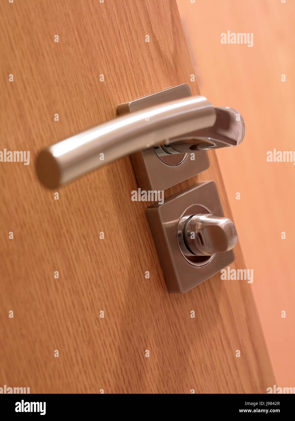 Door handle - Stock Image