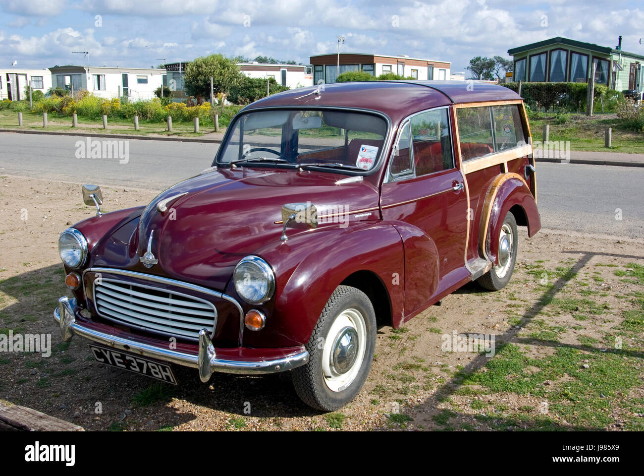 Morris Minor 1000 Traveller - Stock Image