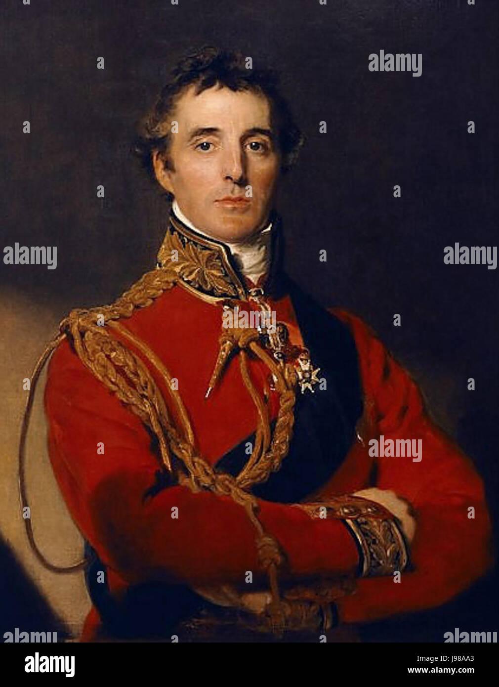 Sir Arthur Wellesley Duke of Wellington - Stock Image
