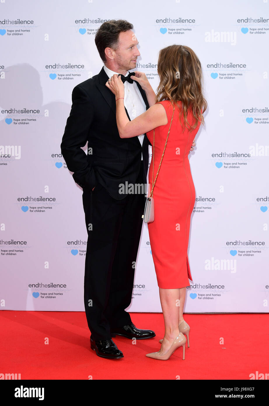 foto Geri halliwell end the silence charity fundraiser in london uk