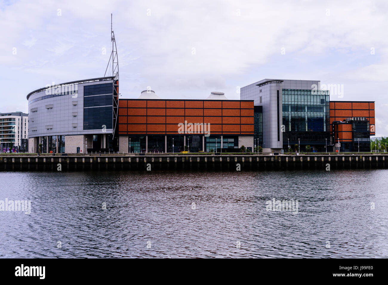 SSE Arena (formerly the Odyssey Arena), Belfast, Northern Ireland Stock Photo