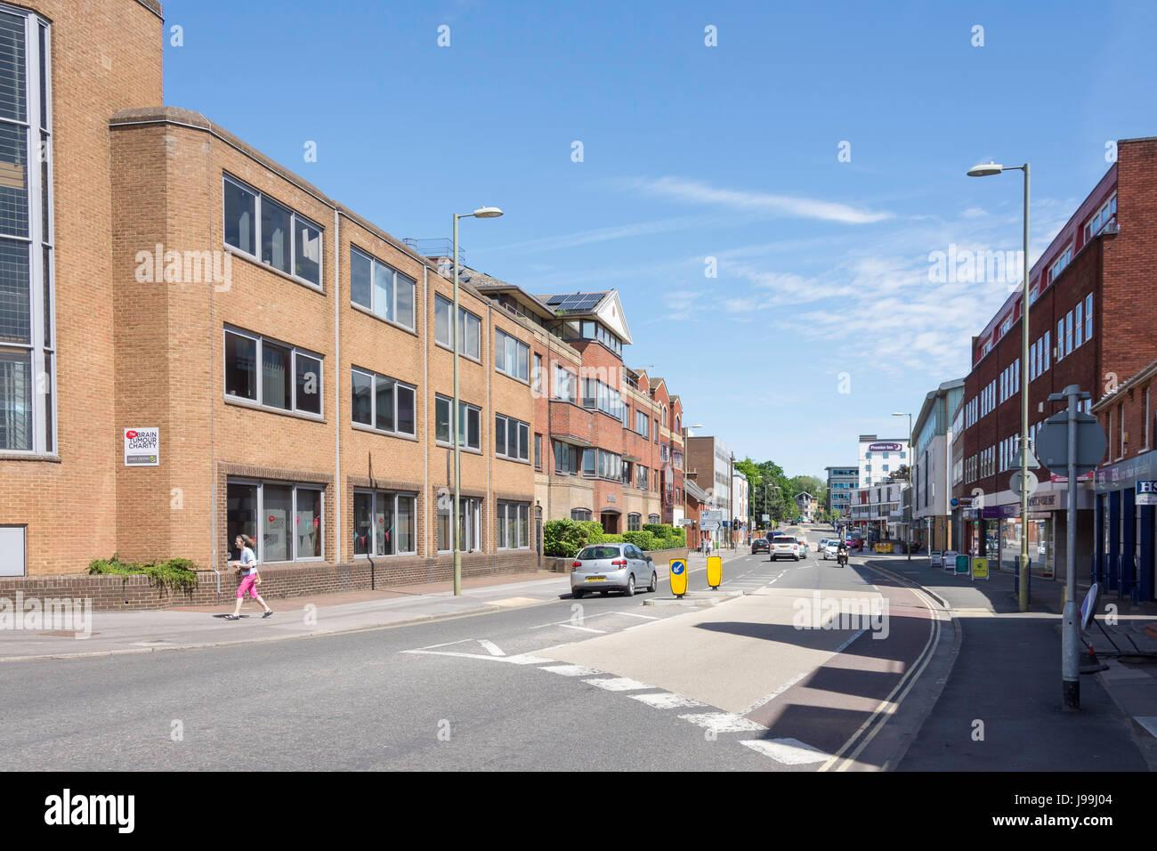 Victoria Road, Farnborough, Hampshire, England, United Kingdom - Stock Image