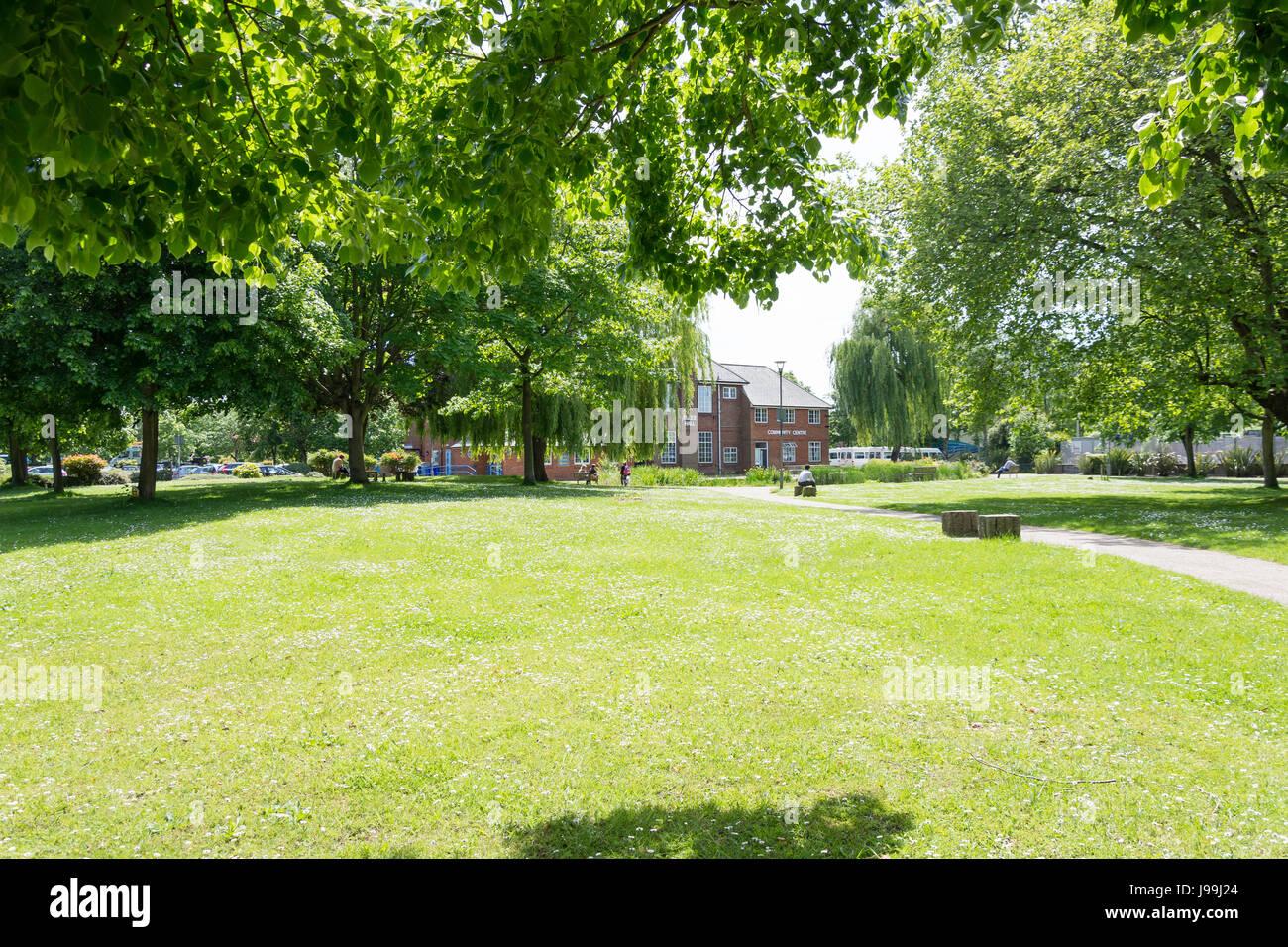 Civic Gardens, Farnborough, Hampshire, England, United Kingdom - Stock Image