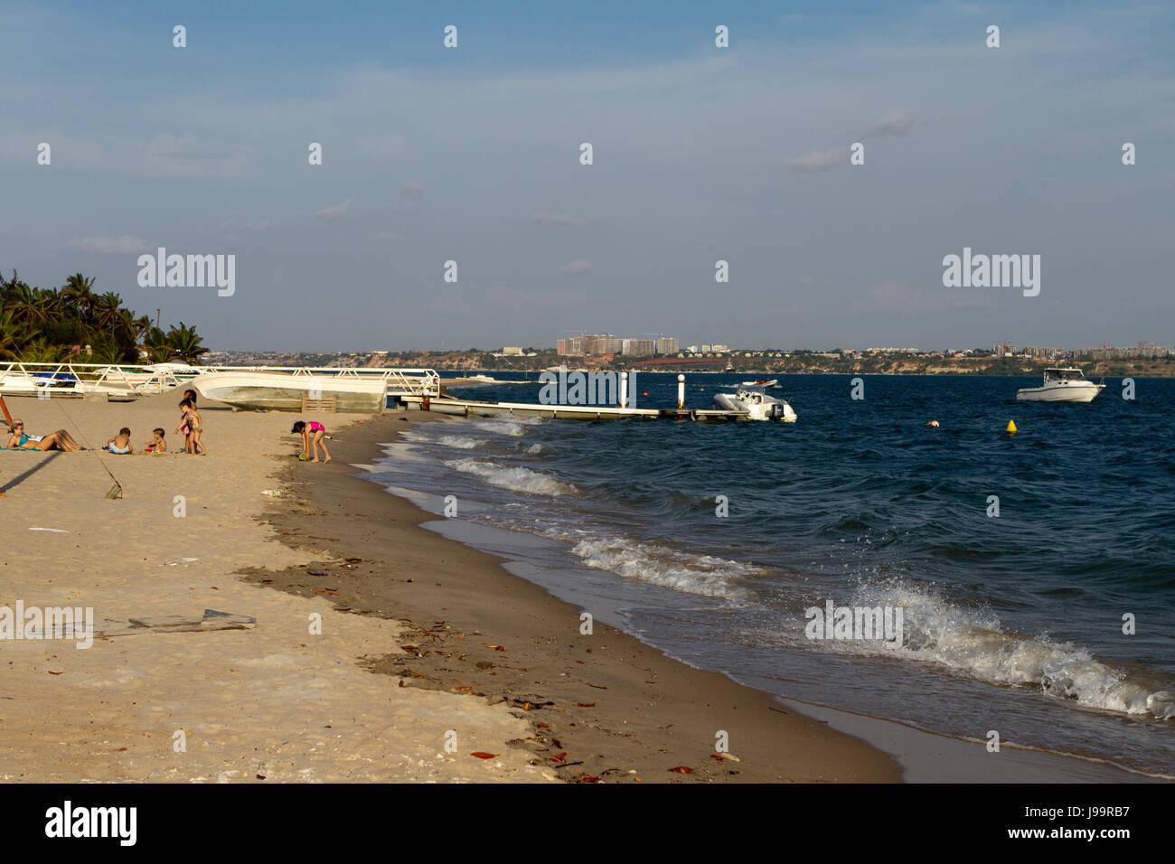Mussulo island, Angola Luanda - Stock Image
