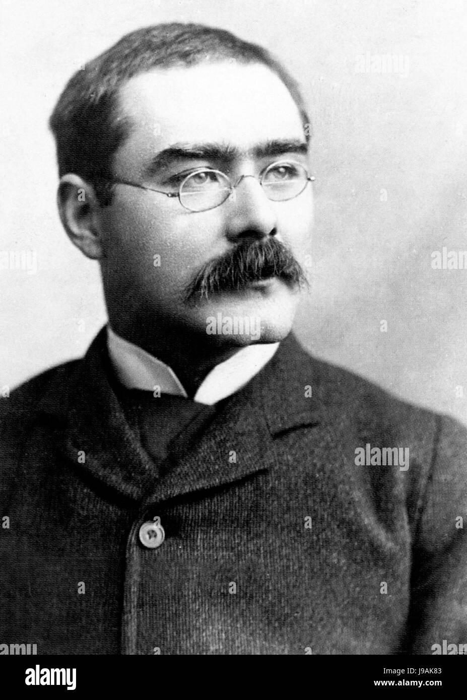 Rudyard Kipling from John Palmer - Stock Image
