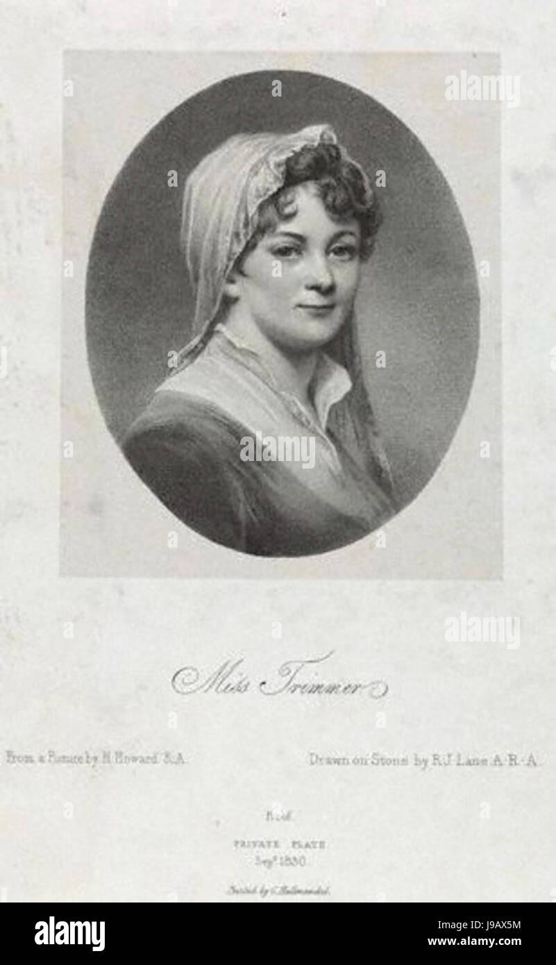 Sarah Trimmer by Richard James Lane - Stock Image