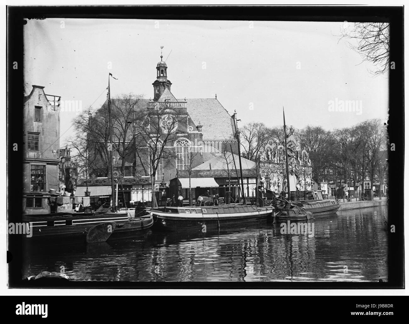 Prinsengracht 16(ged,links) Jacob Olie (max res) - Stock Image