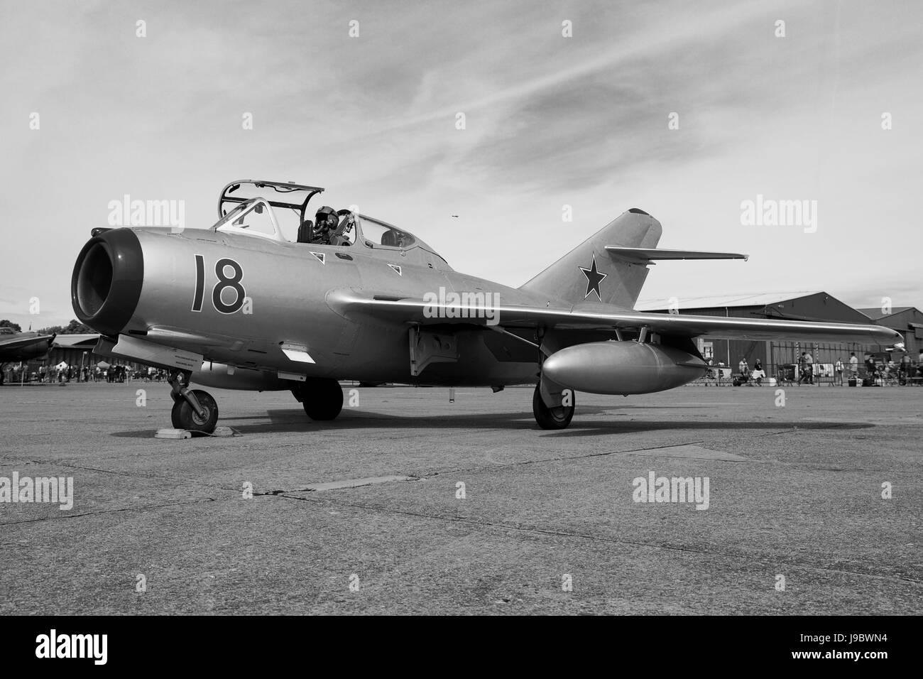 Mikoyan-Gurevich MiG-15UTI - Stock Image