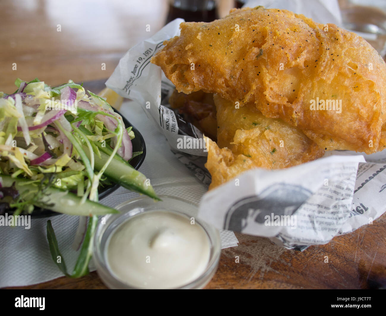 Fish And Chips Meals - Stock Image