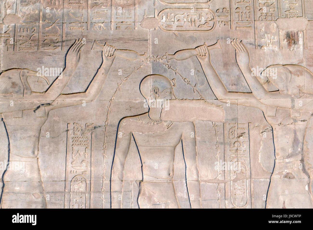 temple, wall, egypt, carving, archeology, pictogram, symbol stock