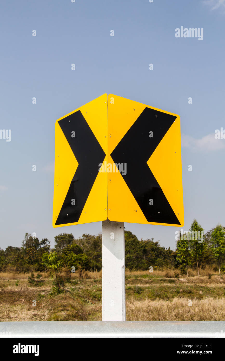 Sign road - Stock Image