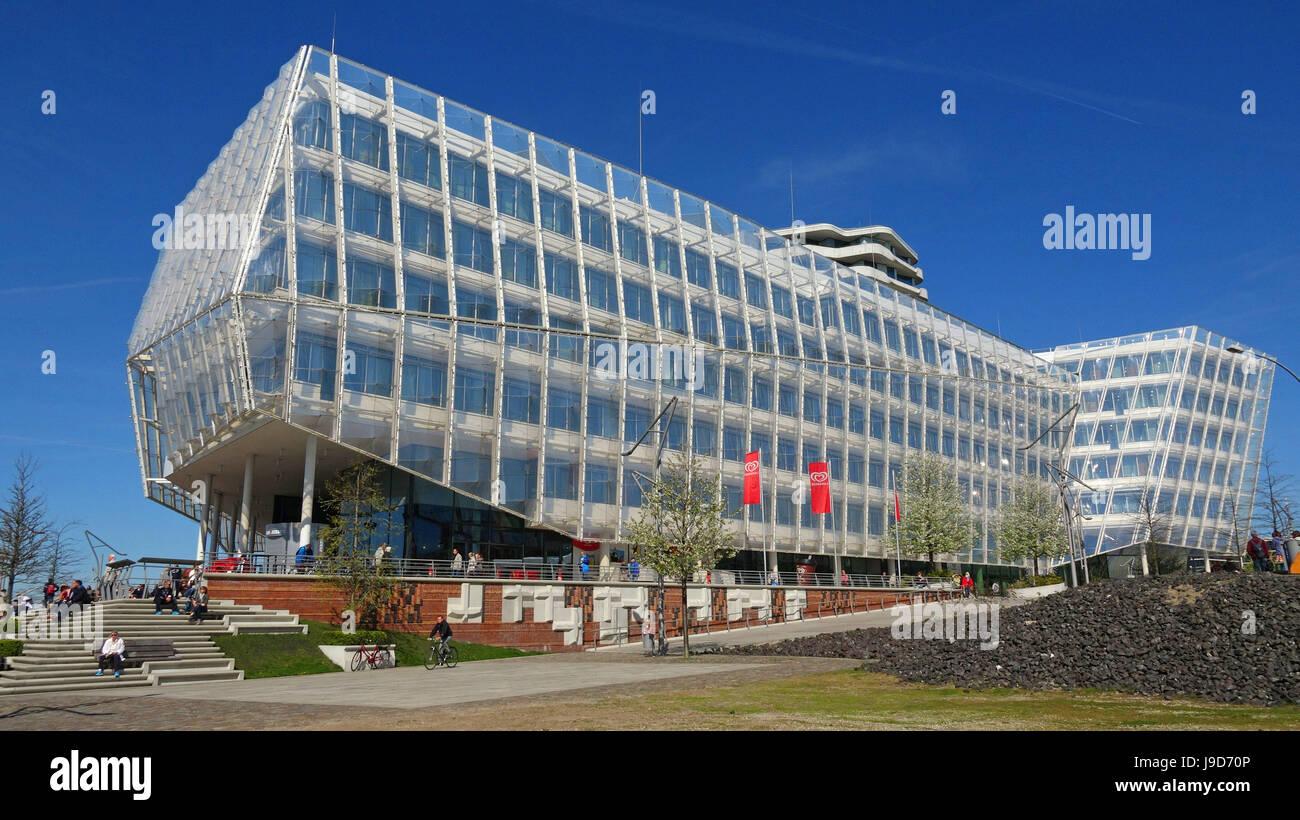 Unilever House, HafenCity, Hamburg, Germany, Europe - Stock Image
