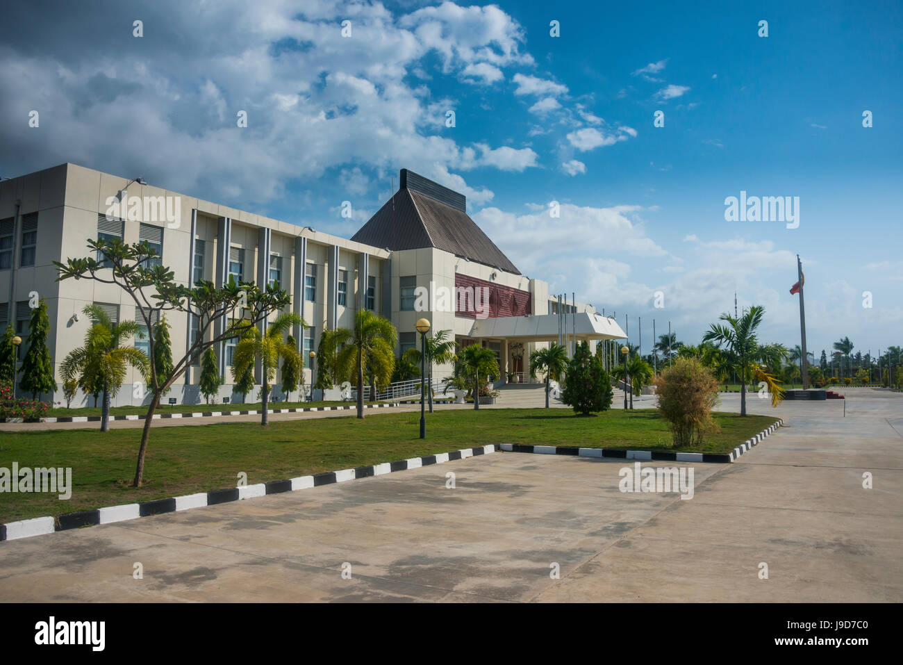 Presidential Palace of Dili, East Timor, Southeast Asia, Asia - Stock Image