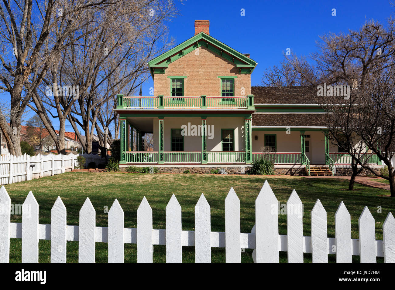 Brigham Young's Winter Home, St. George, Utah, USA, North America - Stock Image