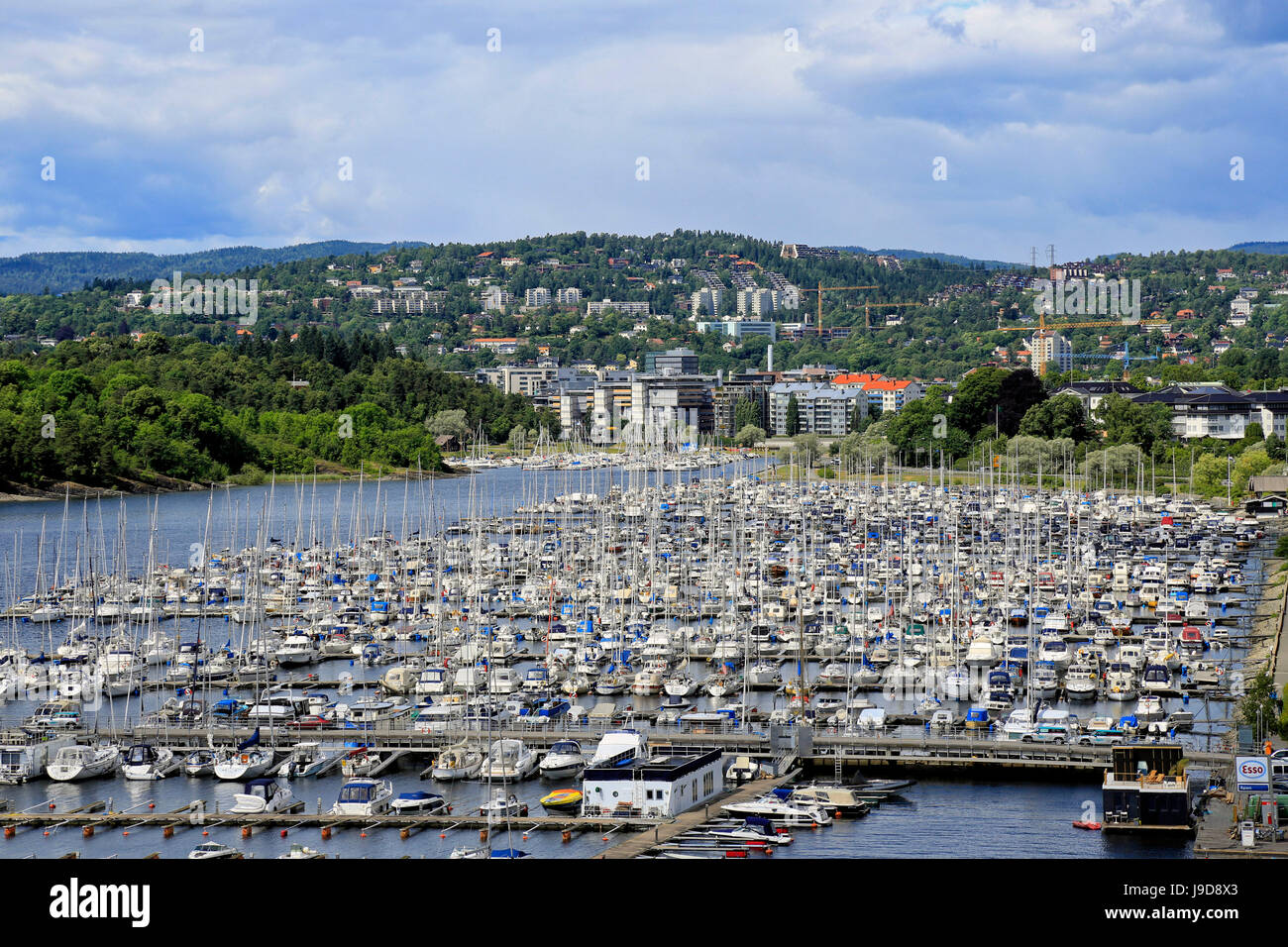 Kongen Marina, Oslo, Norway, Scandinavia, Europe - Stock Image