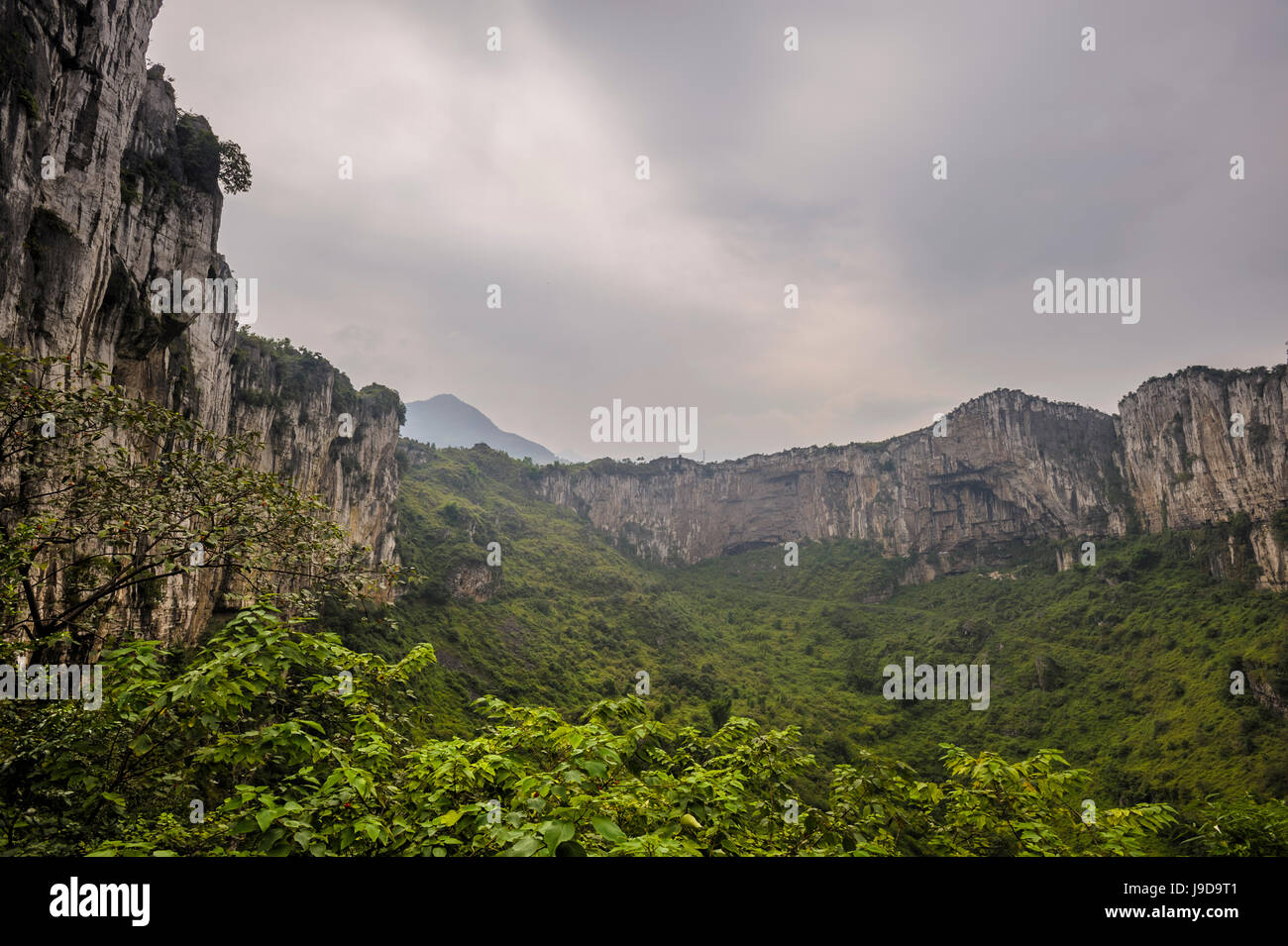 Xinwen Stone Sea Global Geo Park, Sichuan Province, China, Asia - Stock Image