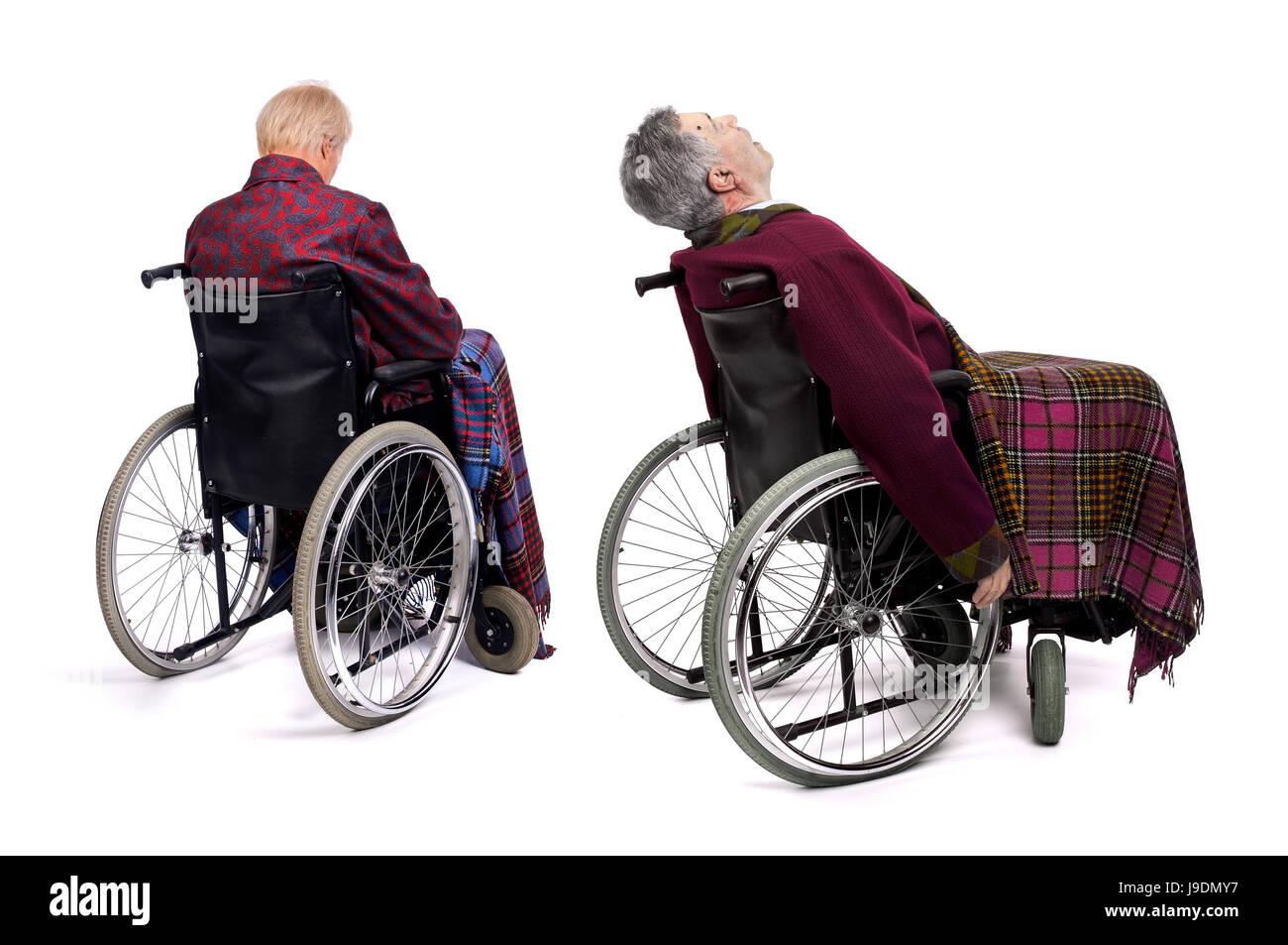 wheelchair, blank, european, caucasian, disabled, disability, chair ...