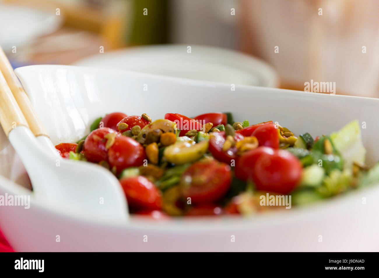 Food served in a bowl. - Stock Image