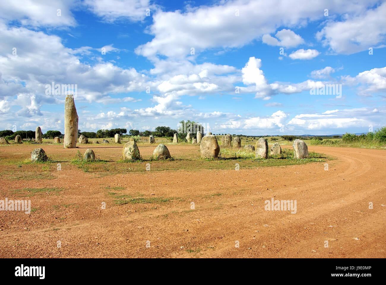 religion, stone, rock, prehistory, prehistoric, travel, historical, big, large, - Stock Image