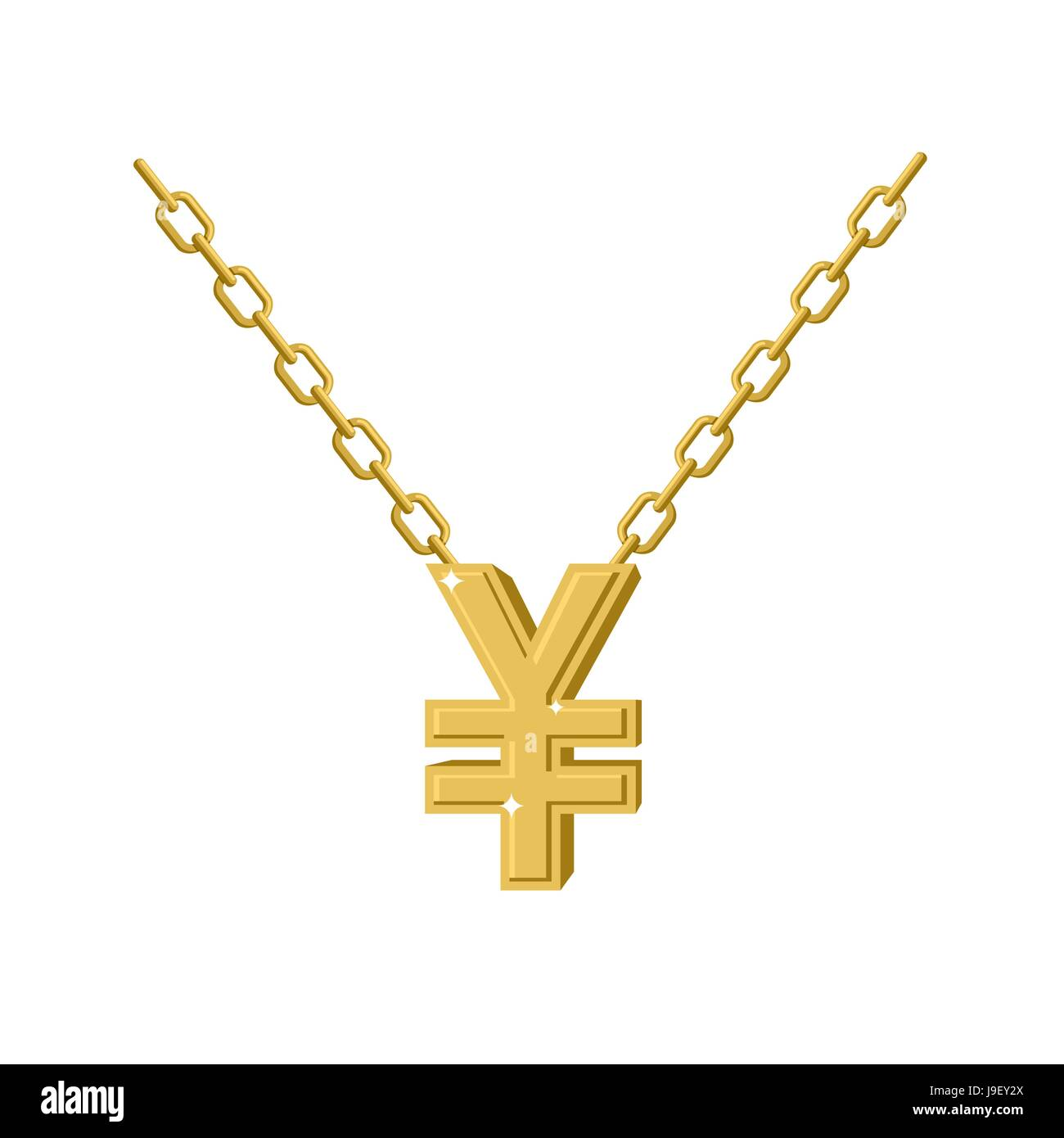 yellow metal wild lion pendant necklace jewelry gold of golden chain animal fa photo stock expensive on vector precious