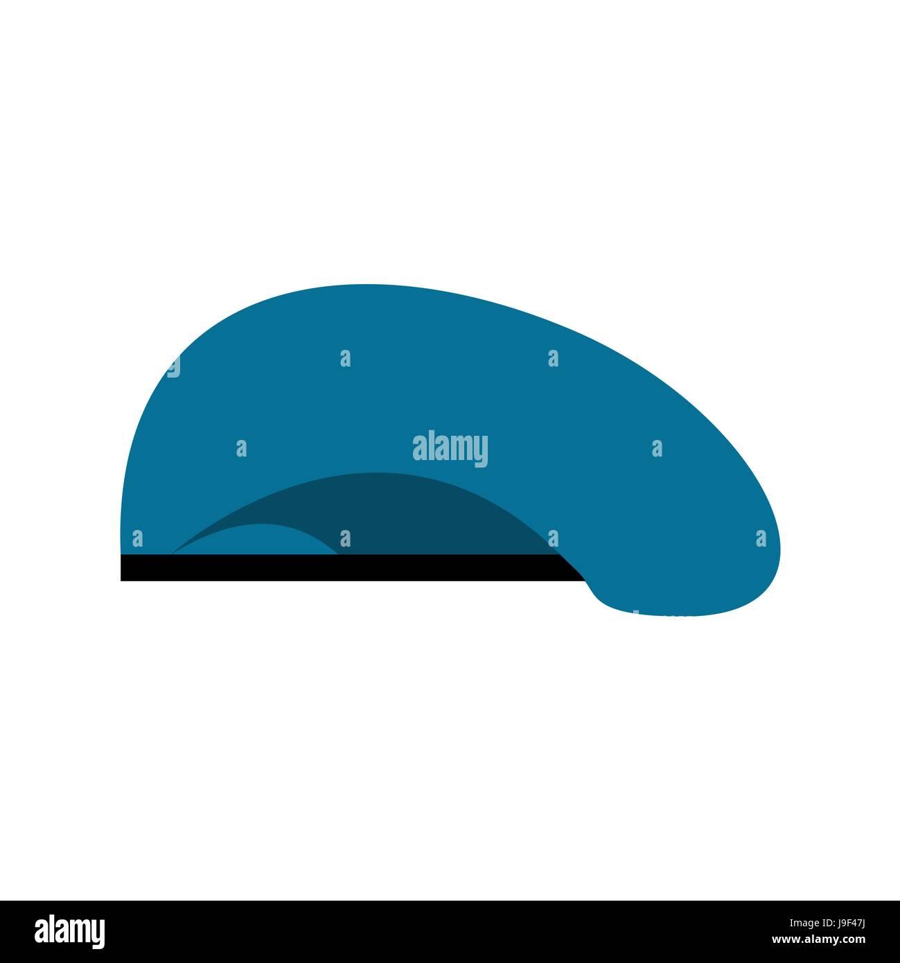 9bbb056de90 Beret military blue. Soldiers cap. army hat. War barret Stock Vector ...