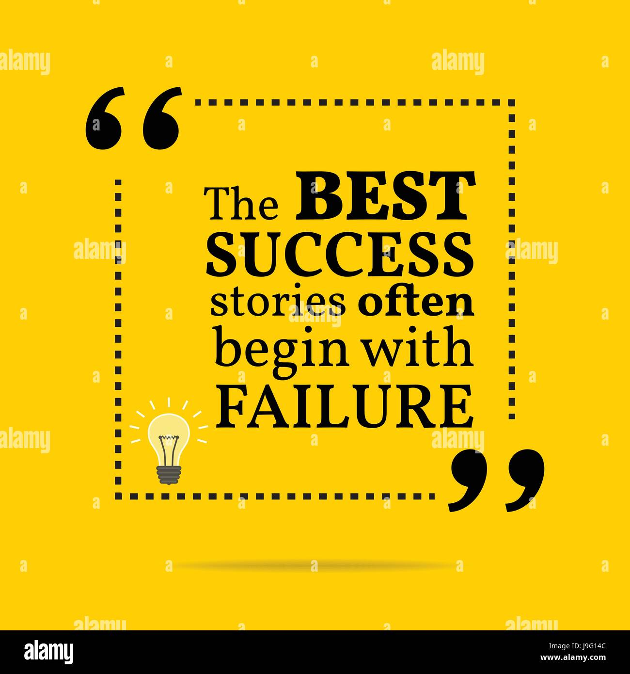C Stock Quote: Inspirational Motivational Quote. The Best Success Stories