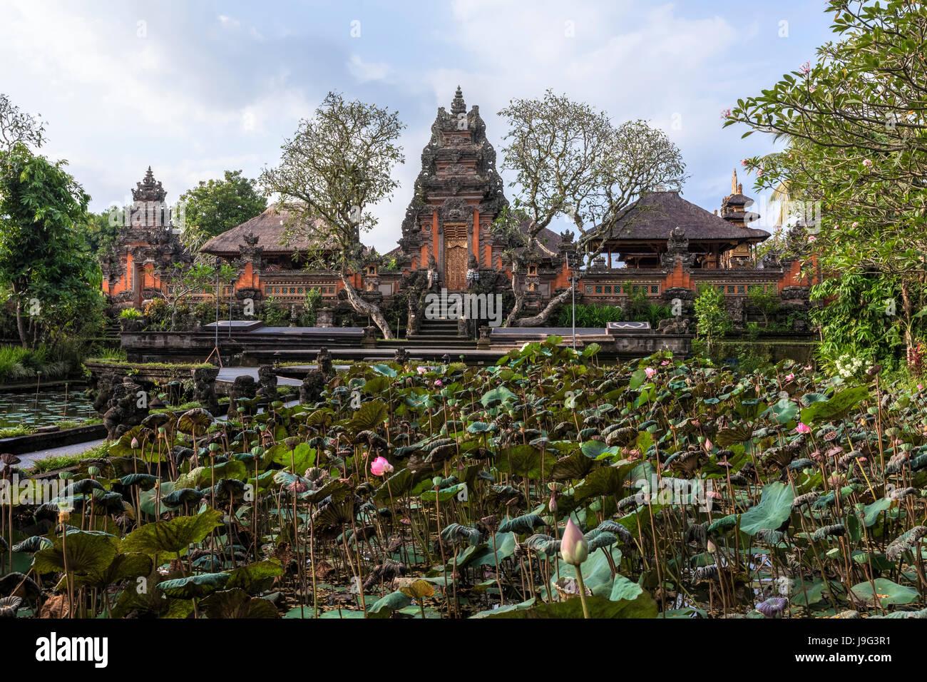 Taman Saraswati Temple, Ubud, Bali, Indonesia, Asia - Stock Image