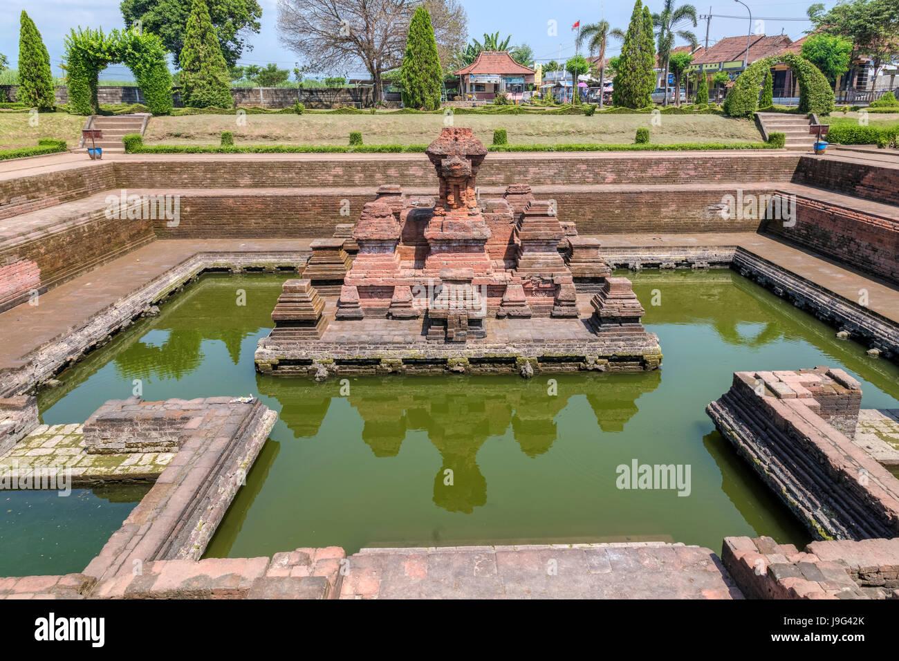 Candi Tikus bathing place, Trowulan, Mojokerto, Java, Indonesia, Asia - Stock Image
