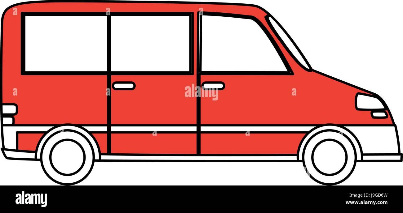 Means of transport design - Stock Image