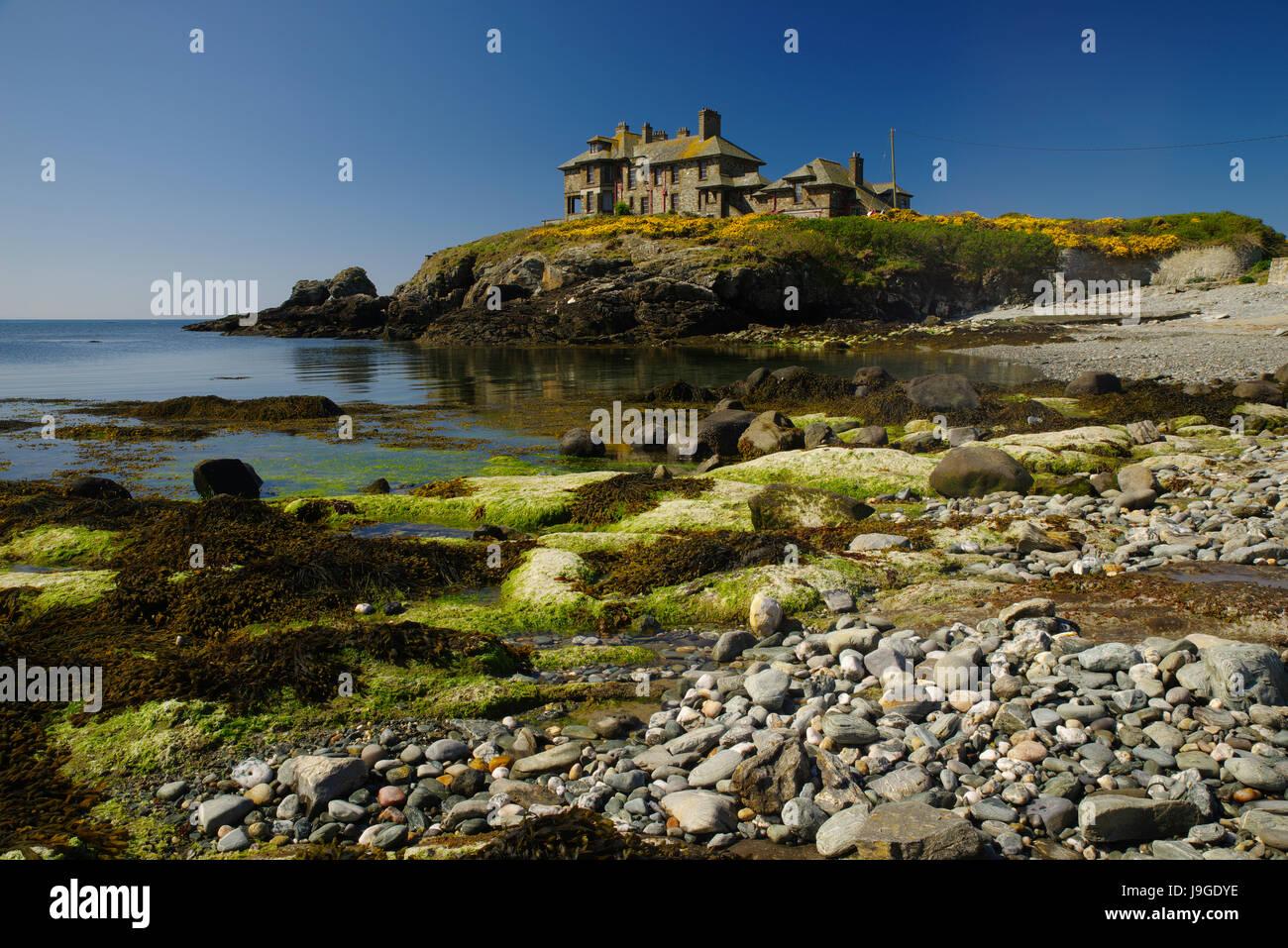 Carreg y Mor, Trearddur bay - Stock Image