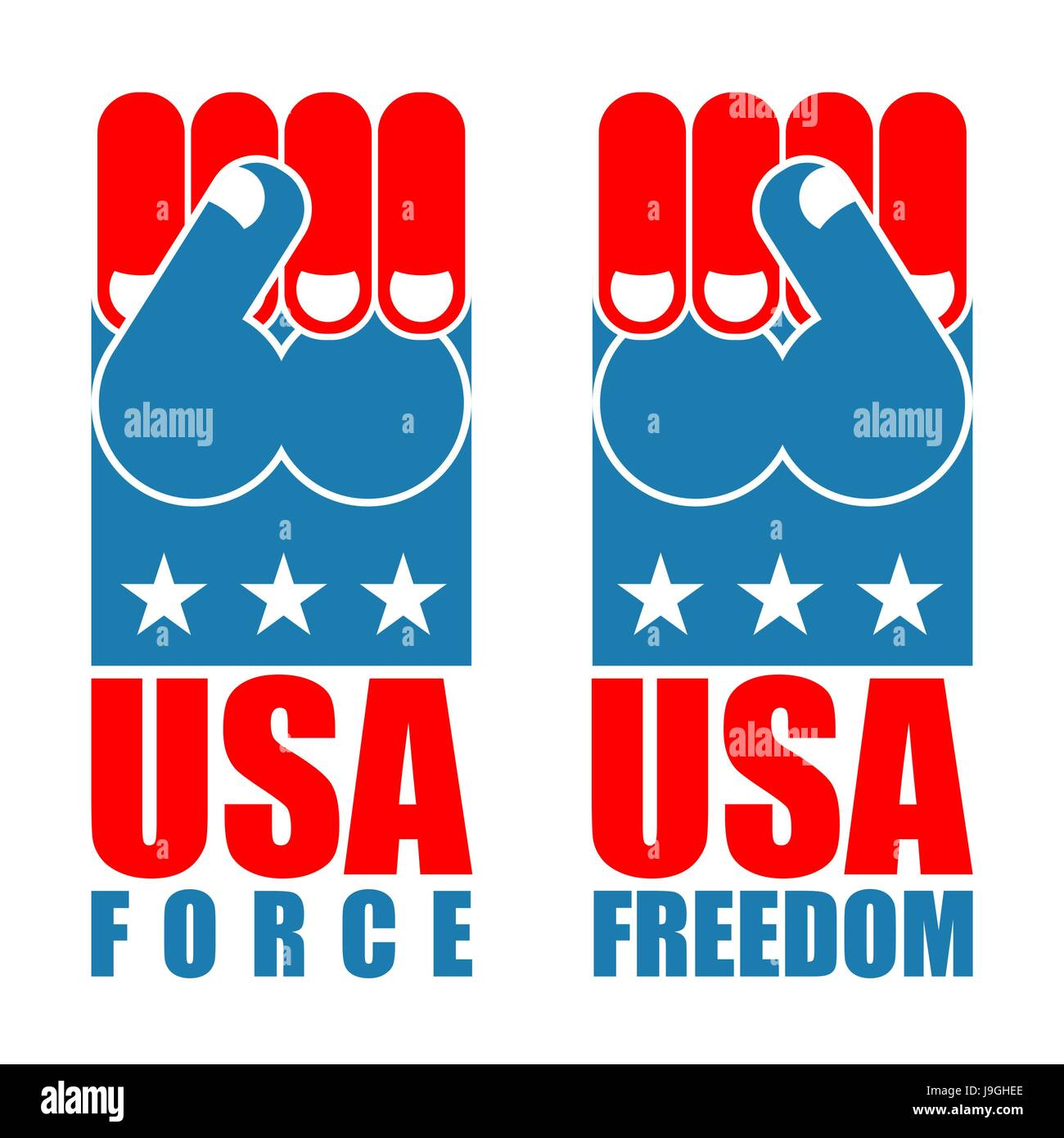 usa force hand american freedom fist us national symbol