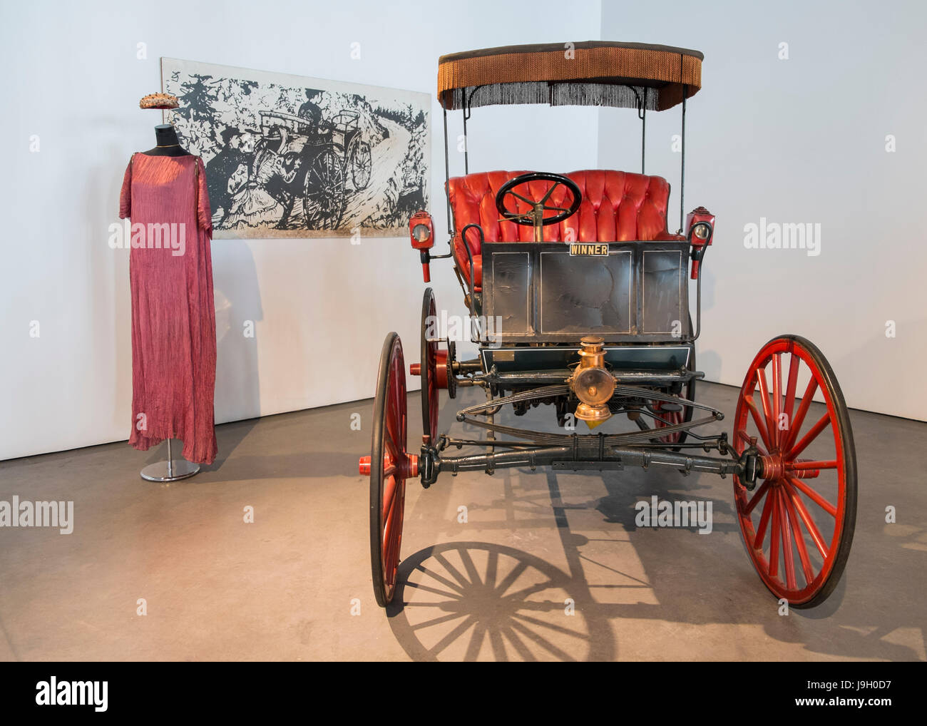 1898 Winner. Automomile museum of Málaga, Andalusia, Spain - Stock Image