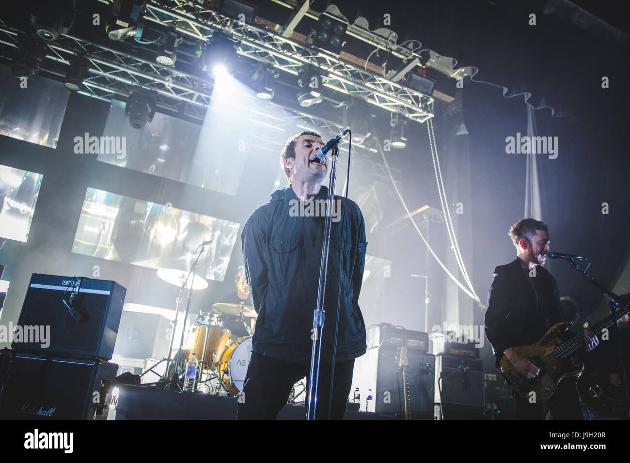 London, UK. 1st June, 2017. Former Oasis singer and frontman, Liam Gallagher, performs a sold out show at the Electric - Stock Image