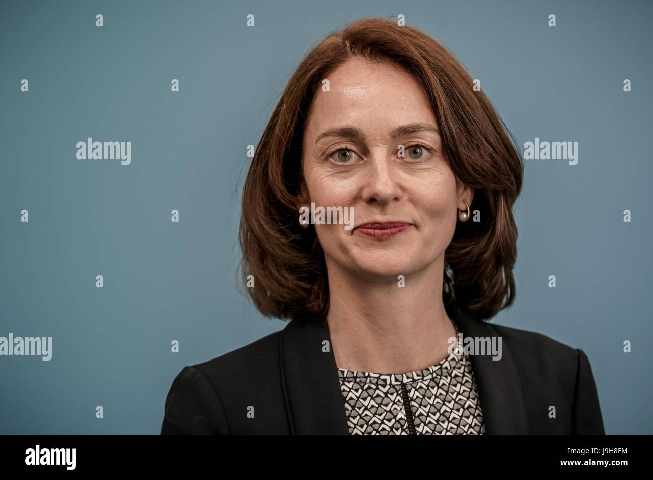 The new German Minister of Family Affairs Katarina Barley (SPD) during the handover of office at the Ministry of - Stock Image